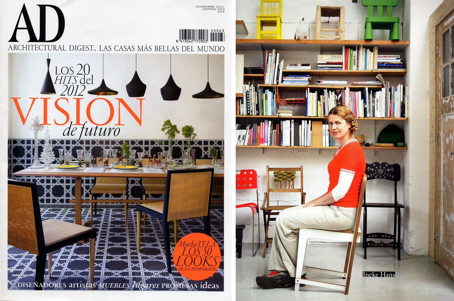 Publications Ineke Hans Studio # Muebles Den Haag