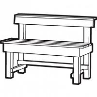 deluxe bench