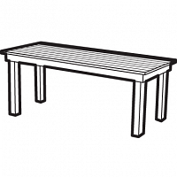 deluxe table
