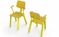 baak chair with arm hpl