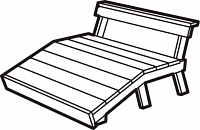 berit double chaise