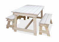 tableset bench no back