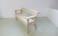 Berit Bench with Arms