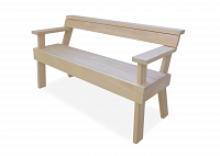 bench with arms